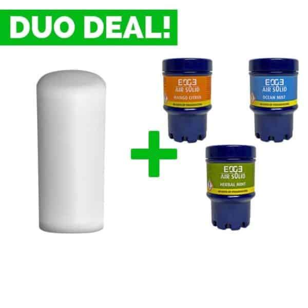 Duo Deal: Quartzline Luchtverfrisser Euro Green + Geurvullingen