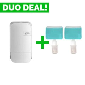 Duo Deal: Quartzline Zeepdispenser 400ml + Zeep