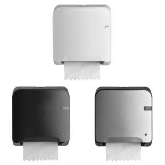 Quartzline Handdoekautomaat verkrijgbaar in White, Black en Silver.
