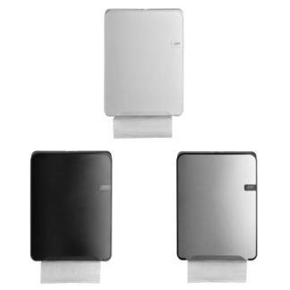 Quartzline Handdoekdispenser verkrijgbaar in White, Black en Silver.