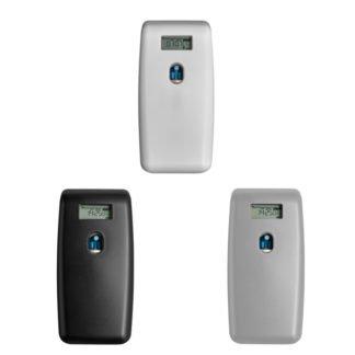 Quartzline Luchtverfrisser Digitaal verkrijgbaar in White of Black.