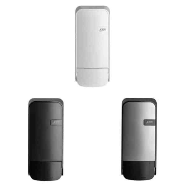 Quartzline Zeepdispenser 1000ml verkrijgbaar in White, Black en Silver.