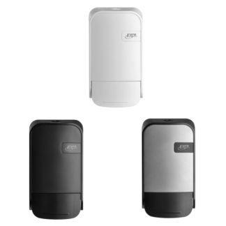 Quartzline Zeepdispenser 400ml verkrijgbaar in White, Black en Silver.