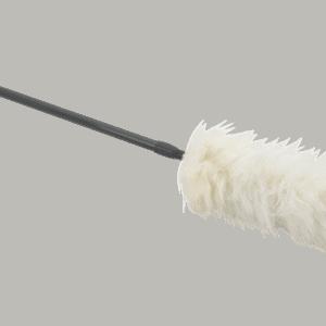 ErgoClean 454210 plumeau wol met telescoopsteel