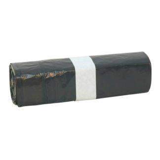 Hygiene Afvalzak Zwart 45x45x25my met trekband