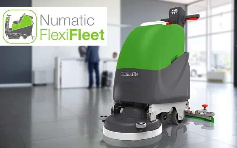 Numatic FlexiFleet Verhuurconcept