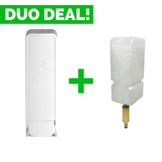Duo Deal: Quartzline Shampoo Dispenser + Shampoo