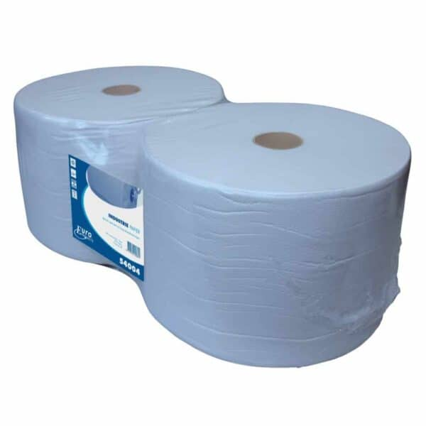 Industriepapier Recycled blauw 1-laags