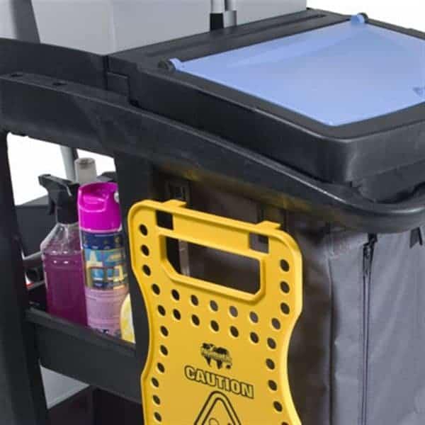Numatic Eco-Matic geïntegreerde haken voor waarschuwingsbord