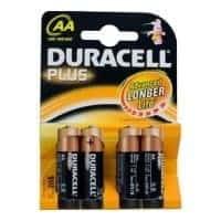 Duracell Plus AA Batterijen 4-pack