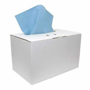 Industriepapier Cellulose Verlijmd blauw 2-laags