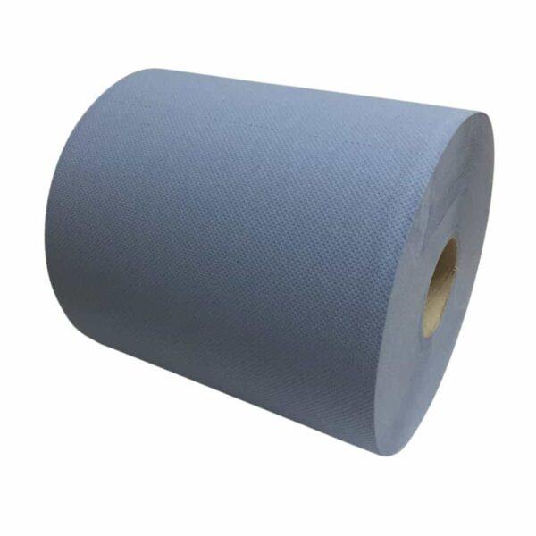 Industriepapier Cellulose blauw 2-laags
