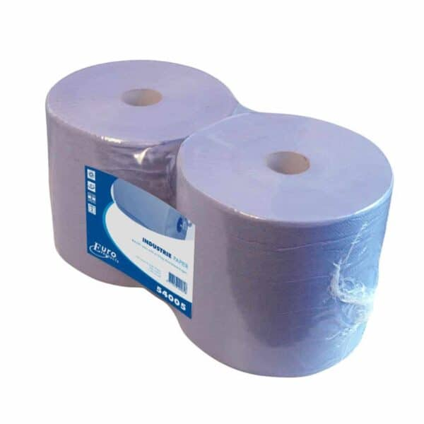 Industriepapier Recycled blauw 2-laags