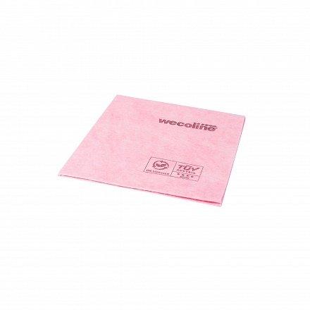Wecoline Biobased Reinigingsdoek Nonwoven Rood