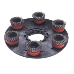 Numatic Spirotex Staalborstelschijf 400mm - 606211