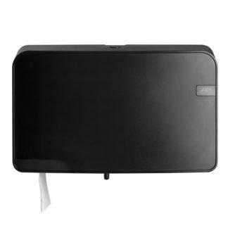 Black Quartz toiletrolhouder Duo Coreless 441053