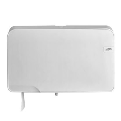 Duo Toiletrolhouder White Quartz 441002