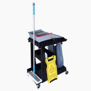 Complete Numatic Werkwagen met spraymopset
