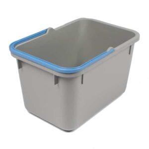 Numatic Grijze emmer 17 liter met blauwe hendel, 905230