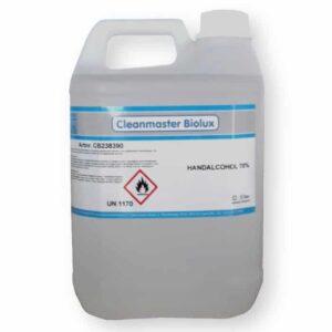 Cleanmaster Biolux Handalcohol 5ltr 70%