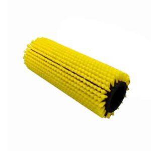 Duplex borstel geel