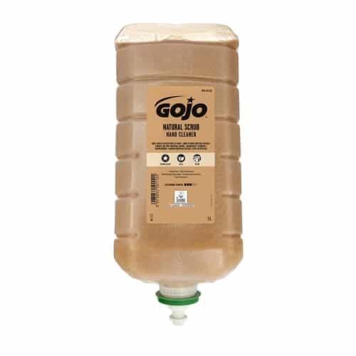 Gojo Natural Scrub Handcleaner 2x5000ml, P7635-02
