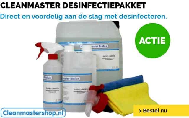 Voordelig desinfecteren