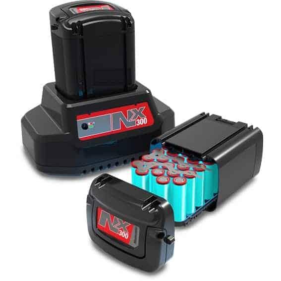 Numatic NX300 Batterij Accu V2 uitleg