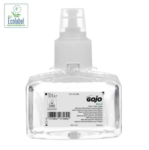 P1311-03 Gojo Mild Foam hand Soap, fragrance free