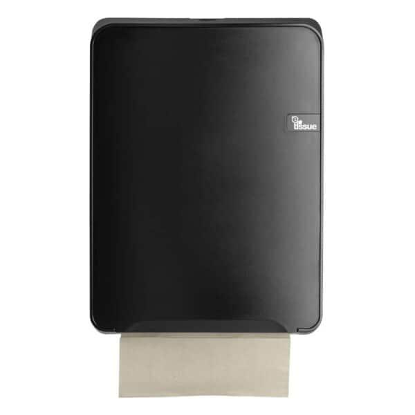 E-Tissue Handdoekdispenser Zwart, E447152