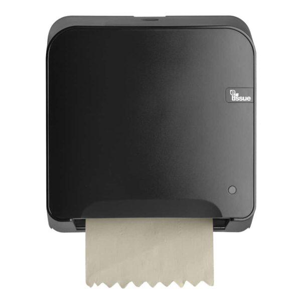 E-Tissue Mini Matic Handdoekautomaat Zwart, E447159