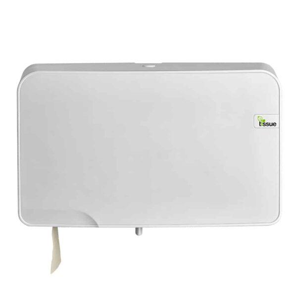 E-Tissue Toiletrolhouder Mini Jumbo Wit, E447007