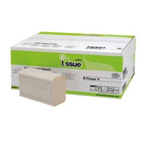 E-Tissue Z-vouw Handdoekpapier, 3000st, 207321
