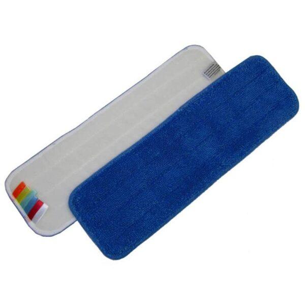 Microvezel Mop 44cm blauw velcro