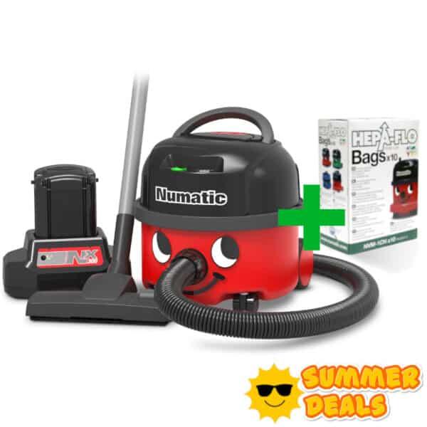 Summer Deal Stofzuiger op accu NBV190 NX Compleet
