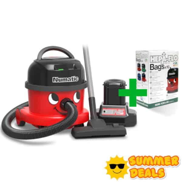 Summer Deal Stofzuiger op accu NBV240 NX Compleet