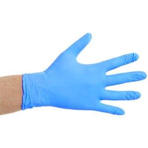 Nitril Handschoen Poedervrij Blauw CATI